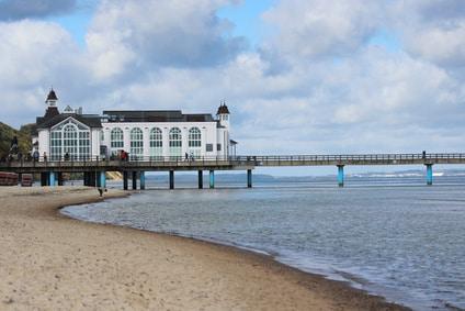 Insel Rügen Seebrücke in Sellin