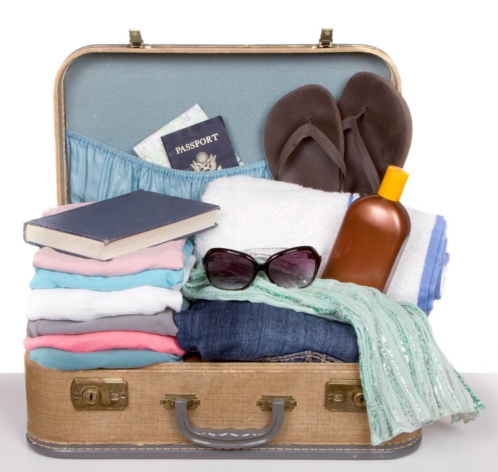 Je nach Unterkunft richtig packen