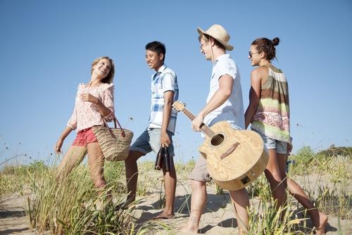 Jugendreisen mit Gleichaltrigen