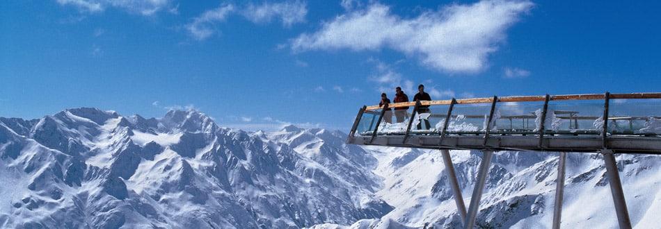 Aussichtsplattform Gaislachkogl im Winter