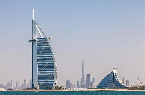 Dubai Reisen - Dubai Skyline
