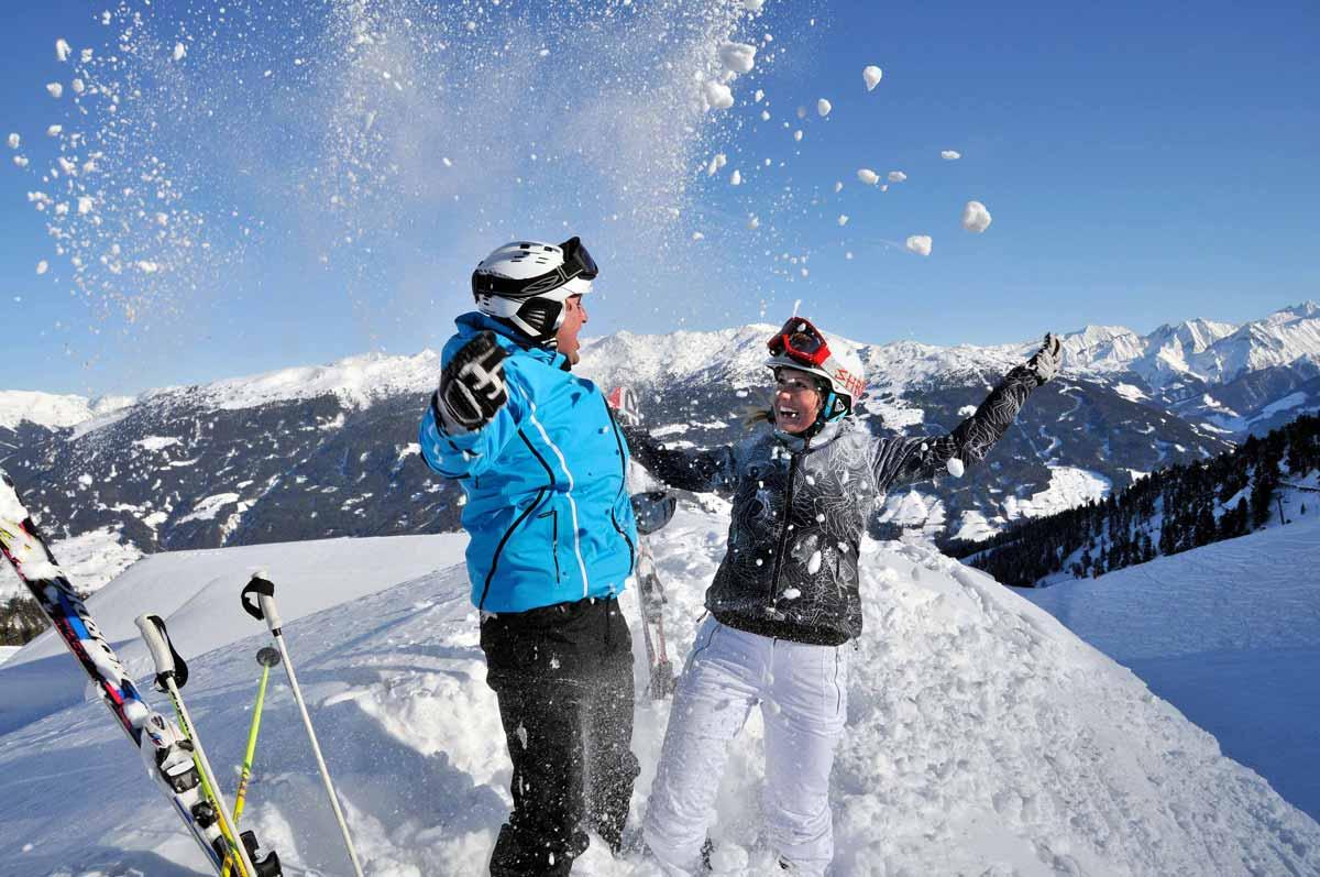 Skiurlaub im Zillertal Skiregion Fügen-Kaltenbach