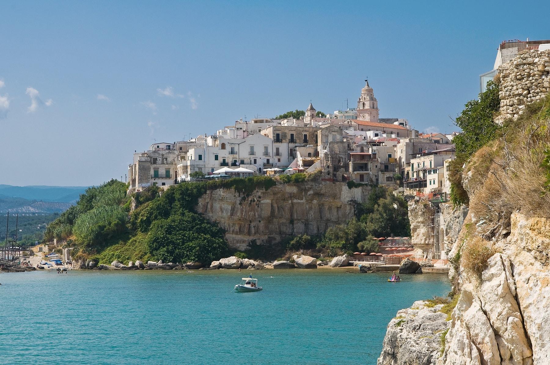 Berge und Meer in Italien