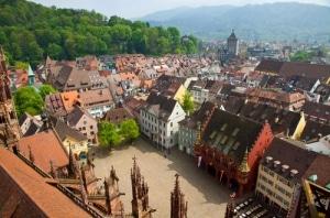 Die Freiburger Altstadt
